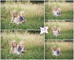Children's location photography