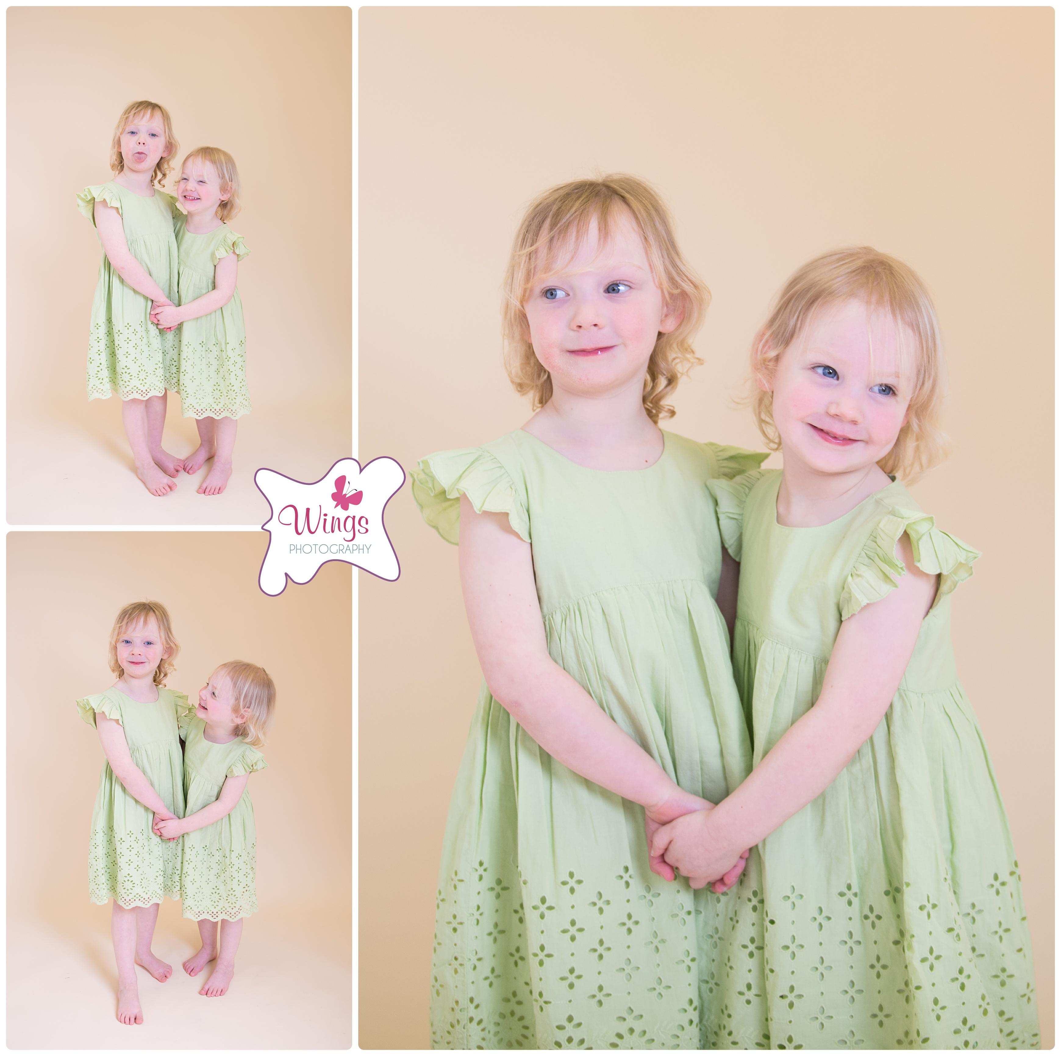 Childrens studio photography