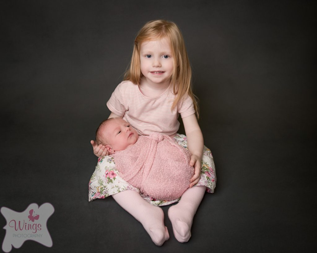Newborn and sibling photography derbyshire