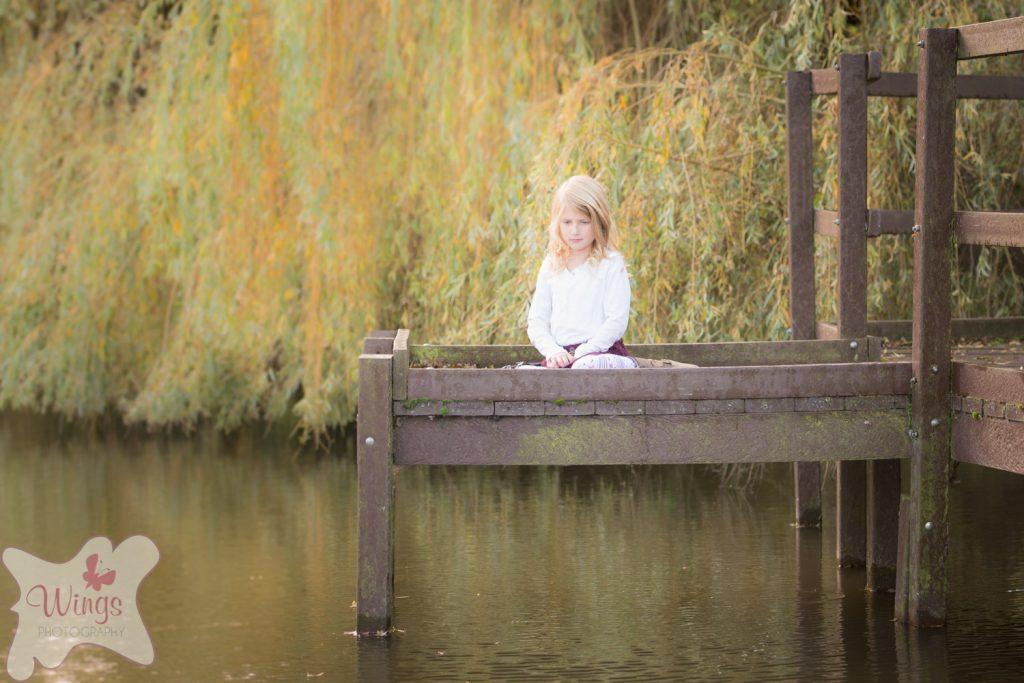 Children's outdoor portraits