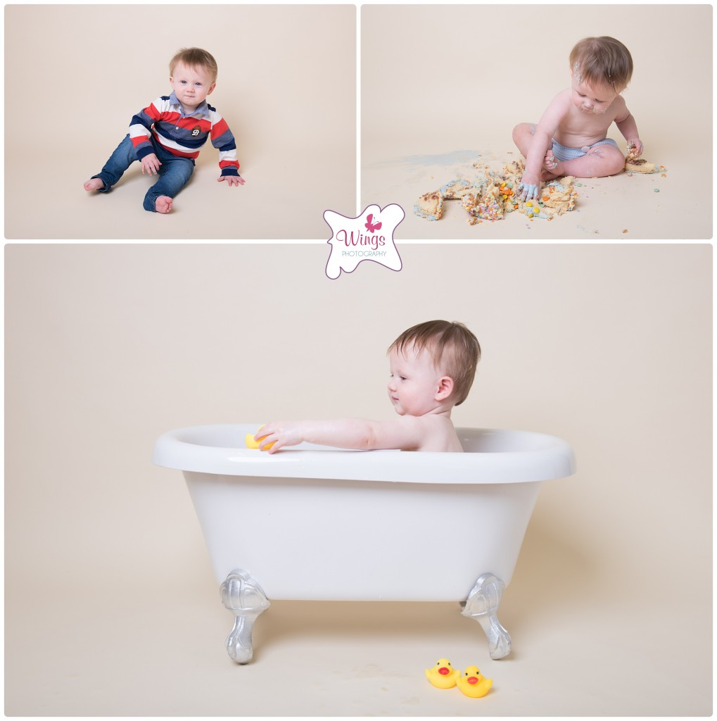 Cake Smash photography Chesterfield Derbyshire