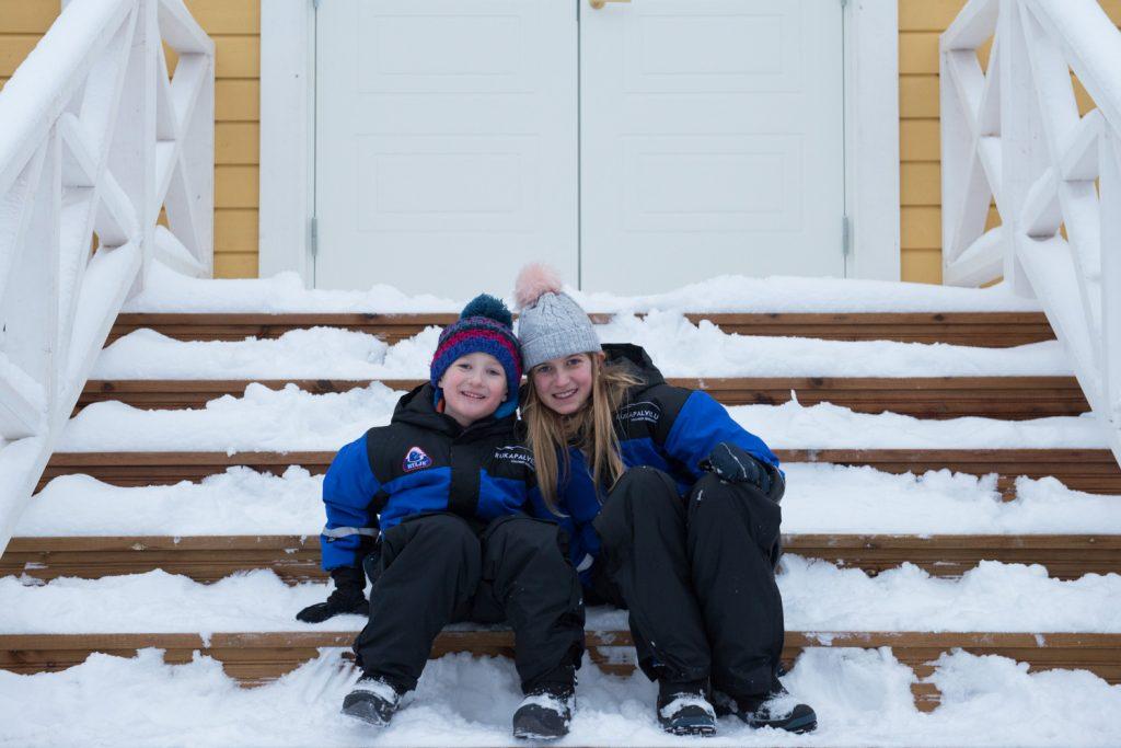 Santa's secret cottage Lapland