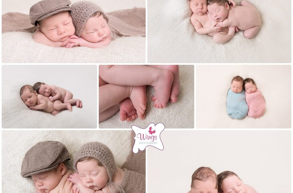 Derbyshire Newborn Photography – Twins Newborn Session