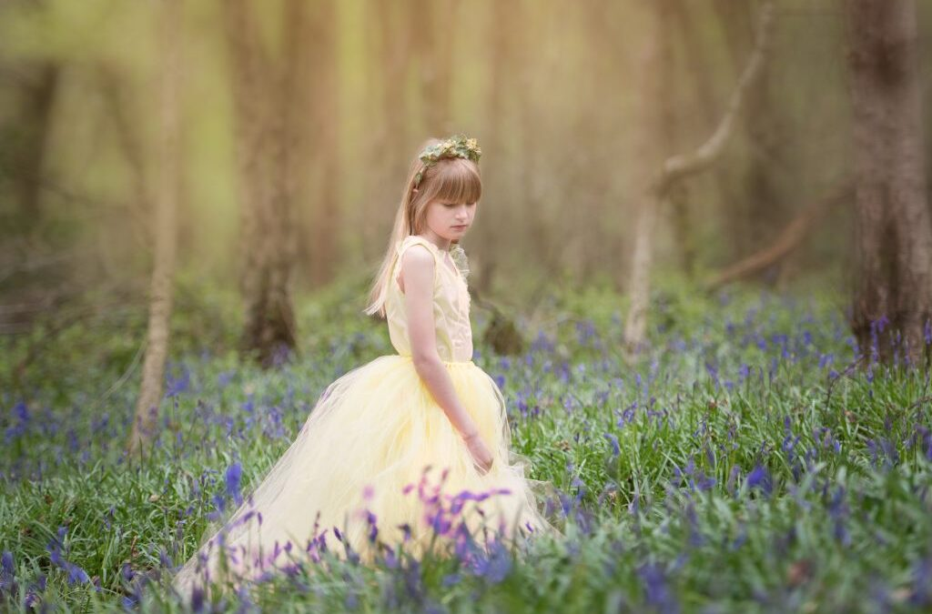 Bluebell mini portrait sessions – Chesterfield Portrait photography